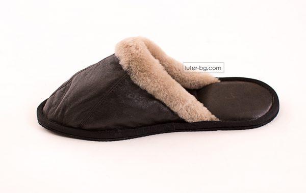 дамски кожени чехли