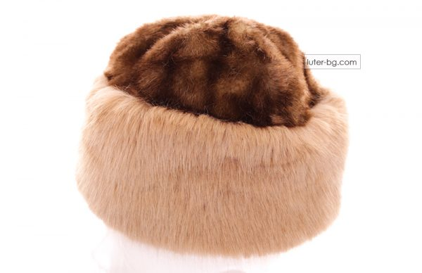 дамска шапка от еко косъм