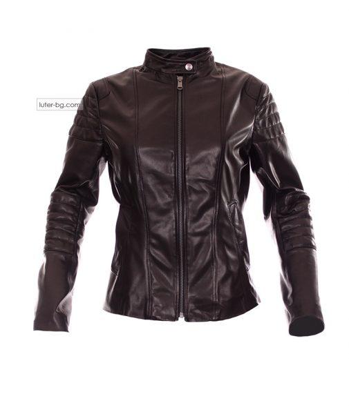 Дамско кожено яке biker